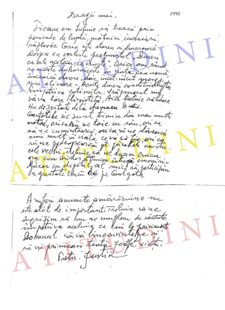 Scrisoare din 1990 a Parintelui Justin Parvu_ atitudini.com