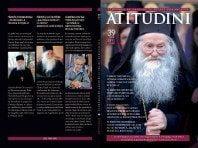 A apărut Revista ATITUDINI, NR. 39 – în memoria Părintelui Justin Pârvu