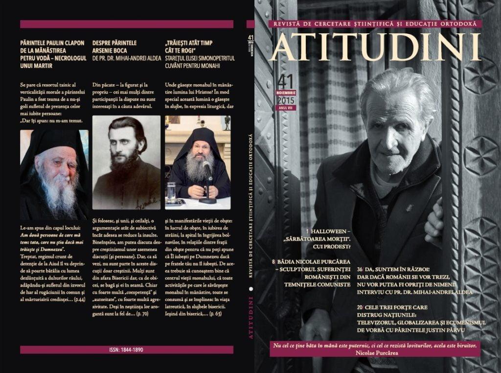 Copertă Revista ATITUDINI nr. 41