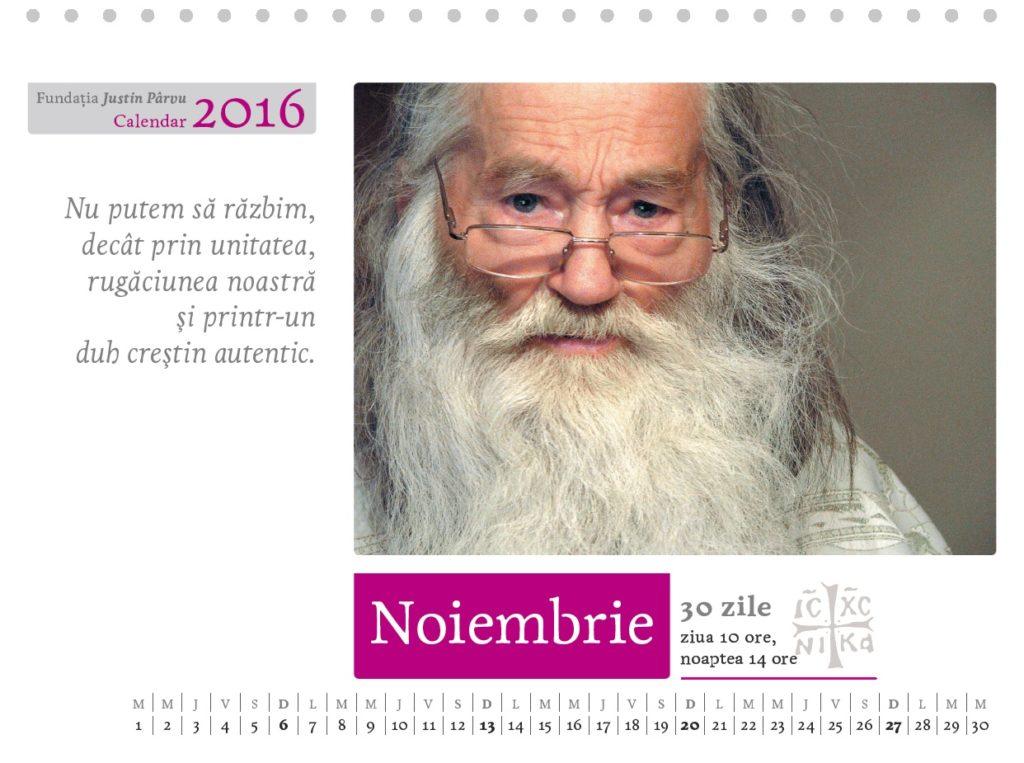 calendar birou noiembrie 2016