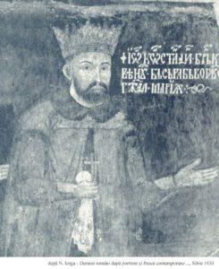 Brancoveanu - Bis din Popesti - dupa Iorga