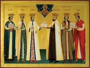 Sfintii Brancoveni Icoana