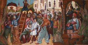 Sfintii Brancoveni Martirizarea