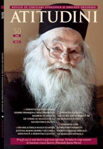 Revista Crestin-ortodoxa ATITUDINI nr. 50 coperta fata