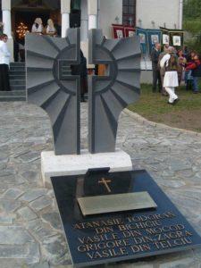 Monument - Martirul Tănase Todoran din Bichigiu