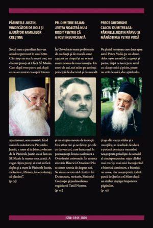 A apărut Revista Ortodoxă ATITUDINI Nr. 53 dedicată Părintelui Dimitrie Bejan