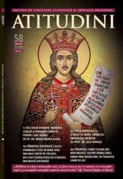 Revista Ortodoxă ATITUDINI Nr. 58, dedicată Sf. Ștefan cel Mare