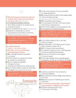 Calendar 2020 Ianuarie