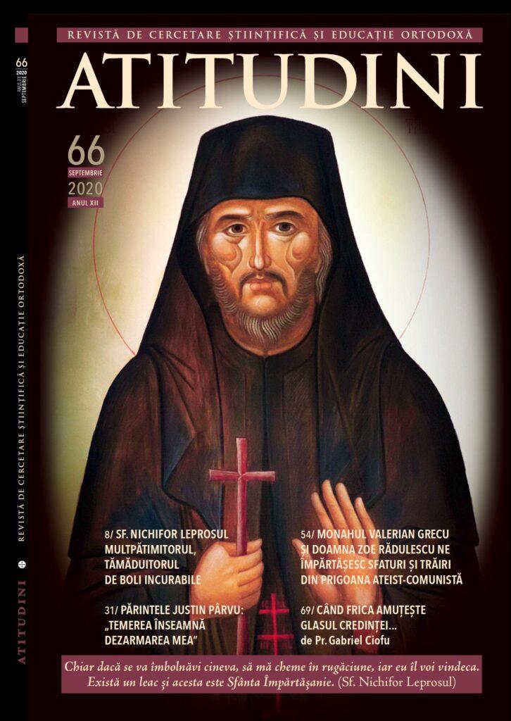 Revista Ortodoxa ATITUDINI nr 66